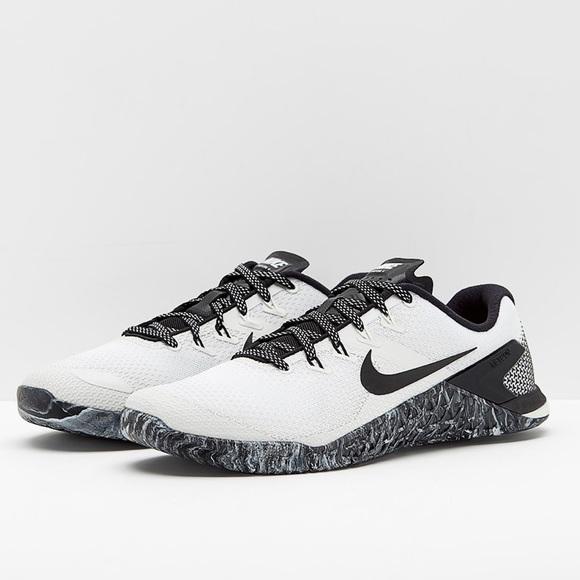 Nike Metcon 4 Black White Sail